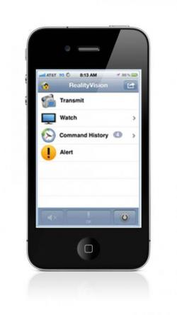 PTT on iPhone – RealityVision Home Page