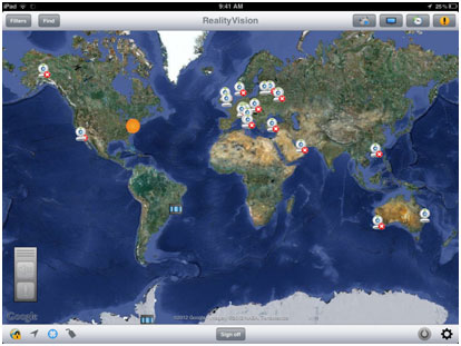 PTT on iPad – RealityVision Home Page